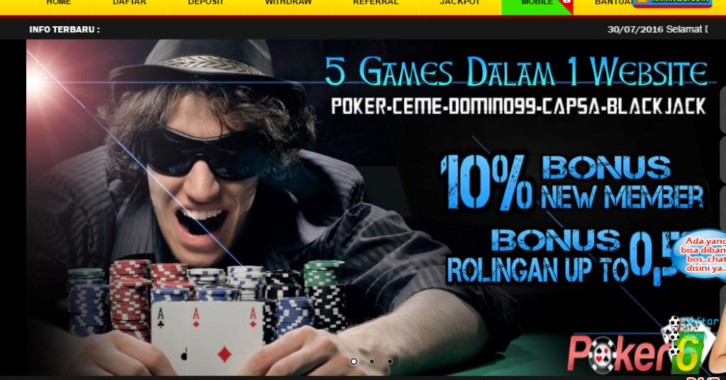 Raja poker qq